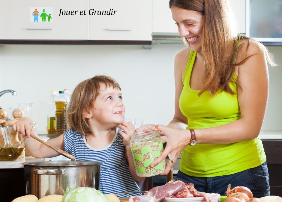 Manger plus, manger mieux: implication de l'enfant dans l'alimentation